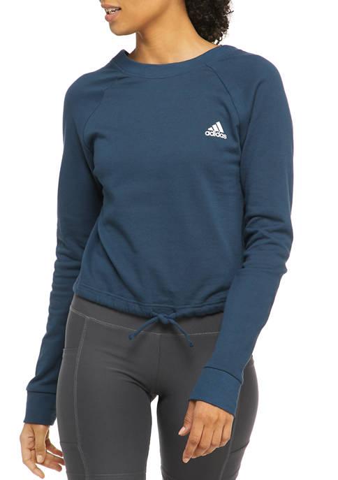 adidas Dance Crop French Terry Sweatshirt
