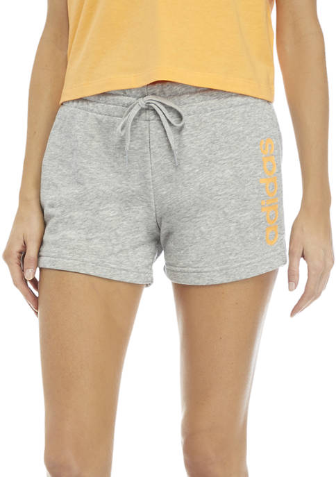 French Terry Linear Logo Shorts