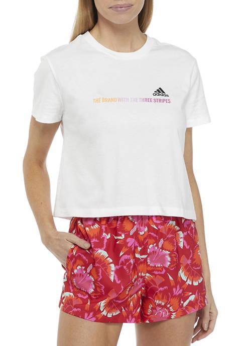 Short Sleeve Logo Graphic T-Shirt