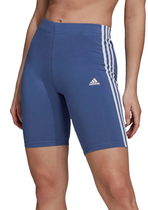 adidas 3 Stripe Jersey Bike Shorts