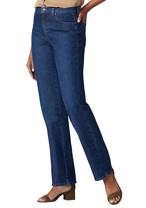 Petite Relaxed Fit Denim Jeans