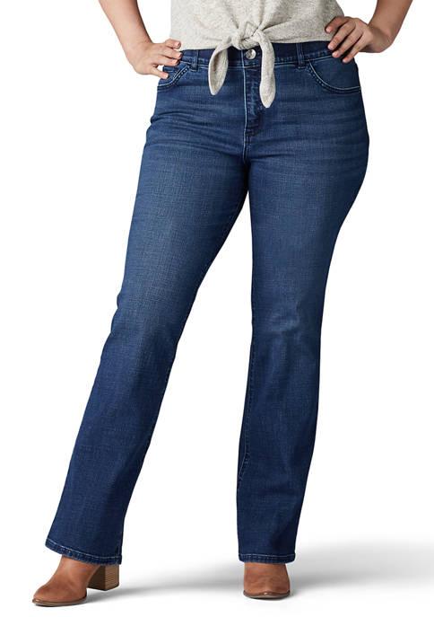 Lee® Plus Size Flex Motion Bootcut Jeans