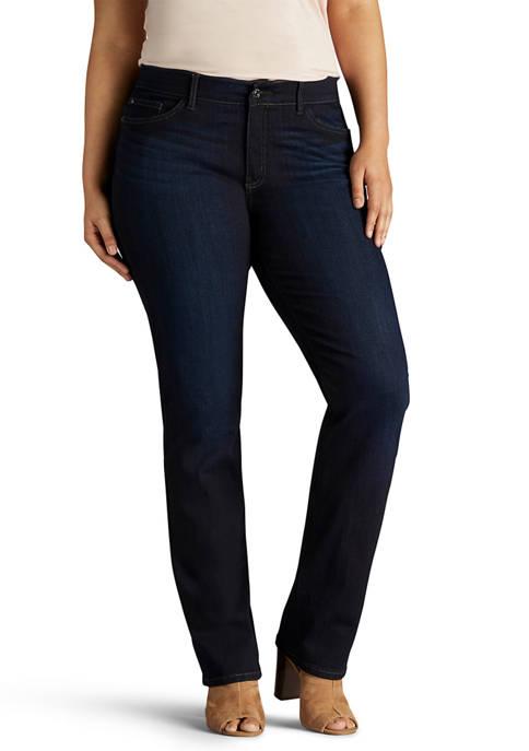 Plus Size Flex Motion Regular Fit Jeans