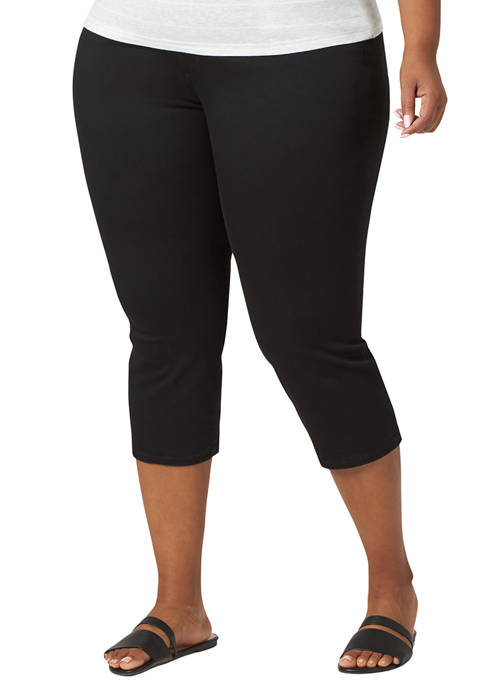 Lee® Plus Size Sculpting Pull On Capris