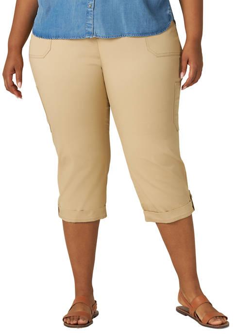 Lee® Plus Size Flex To Go Cargo Capri