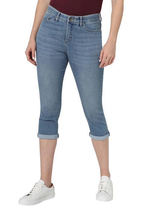 Womens Flex Motion 5 Pocket Capri Pants