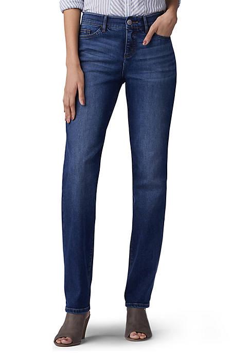 Lee® Womens Flex Motion Straight Leg Jeans