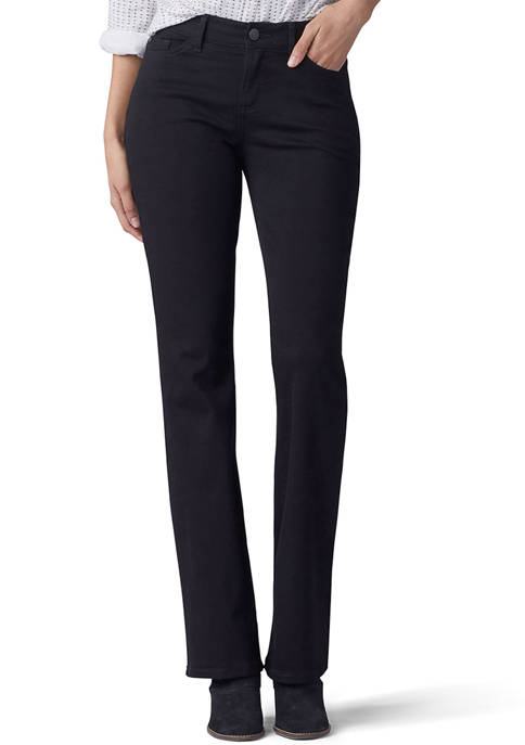 Lee® Petite Flex Motion Regular Fit Bootcut Jeans