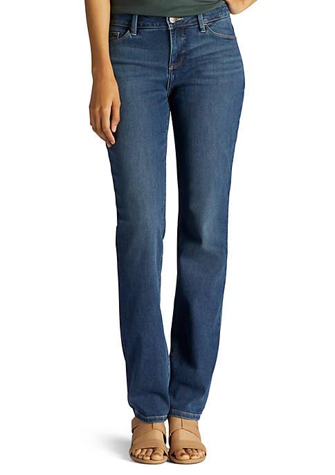 Lee Secretly Shapes Regular Fit Straight Leg Jean