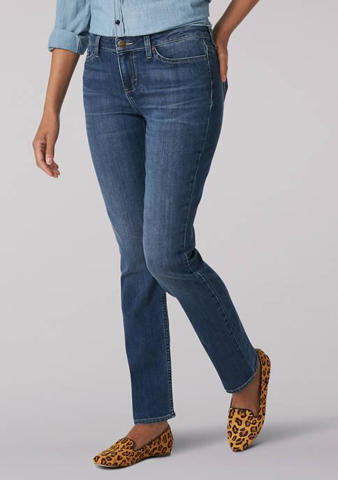 Lee® Womens Flex Motion Regular Fit Jeans