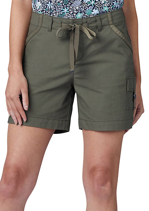 Lee® Platinum Drawstring D-Ring Cargo Shorts