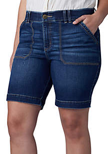 3be72631 ... Lee® Plus Size Flex Motion Walking Shorts