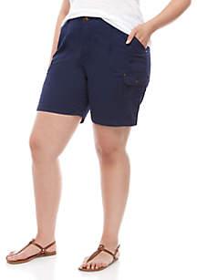 Lee® Plus Size Flex to Go Cargo Shorts