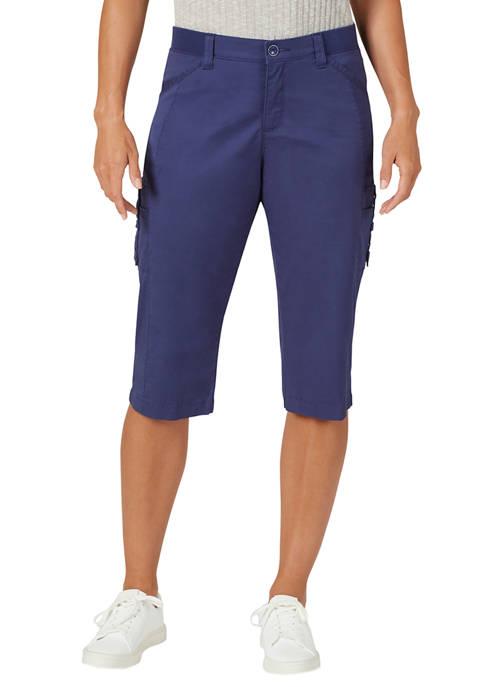 Lee® Petite Flex To Go Cargo Skimmer Shorts