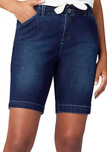 Lee® Platinum Petite Regular Fit Chino Bermuda Shorts
