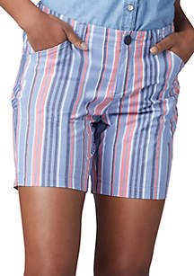 Lee® Platinum Stripe Chino Walk Shorts