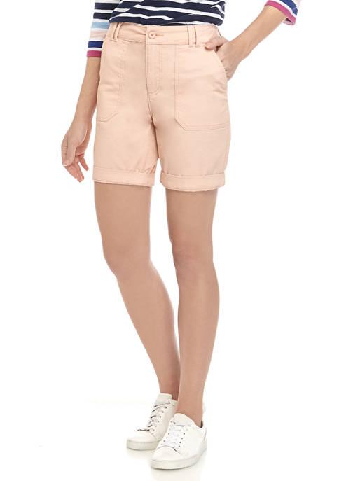 Womens Utility Chino Shorts