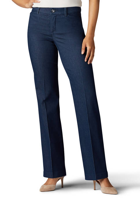 Lee® Womens Flex Motion Trouser Pants