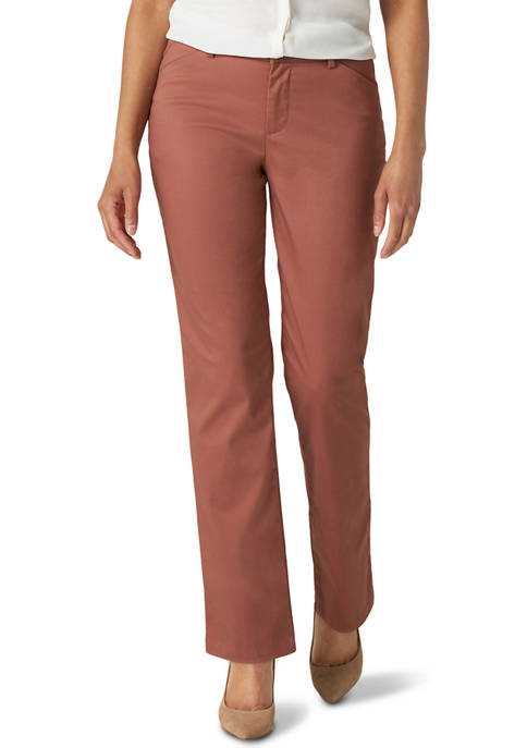 Lee® Womens Relaxed Fit Straight Leg Pants