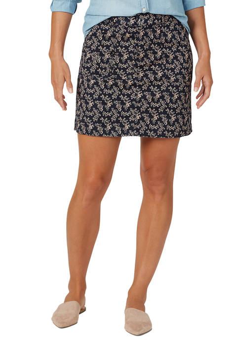 Lee® Womens Regular Fit Skort