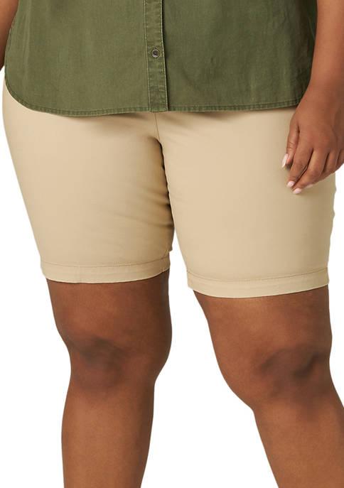 Lee® Plus Size Chino Shorts