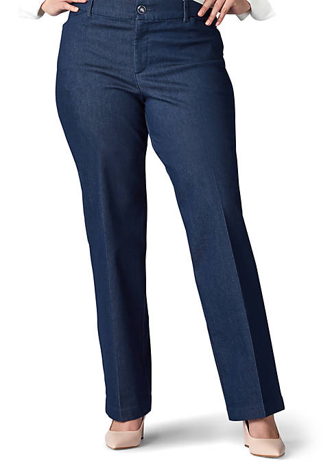 Plus Size Flex Motion Trouser Pants