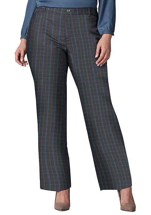Lee® Plus Size Flex Motion Trouser Pants