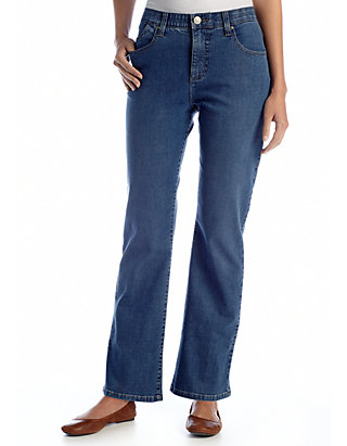 9fa7f1f8 Lee® Platinum Petite Perfect Fit Nellie Barely Bootcut Jean | belk