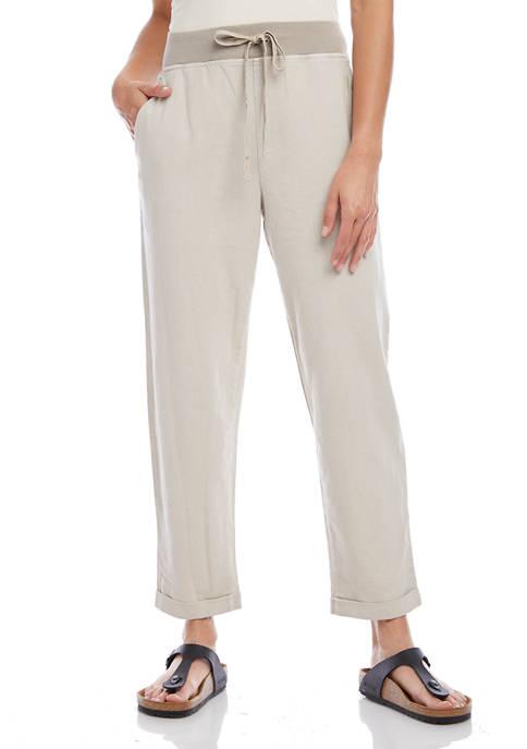 Karen Kane Womens Drawstring Pants