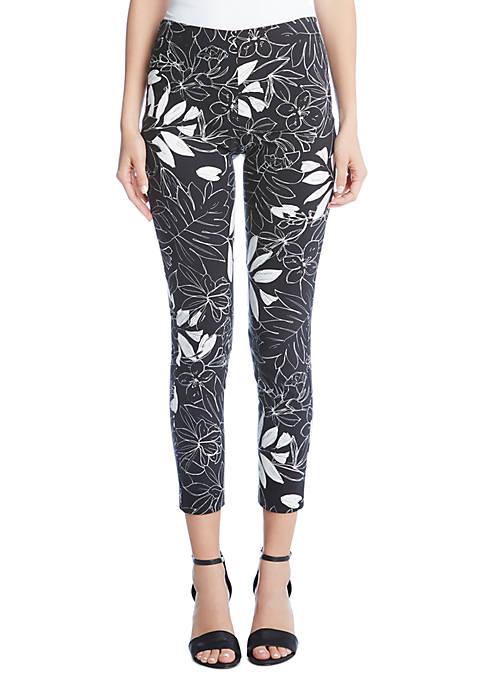 Leaf Print Piper Pants