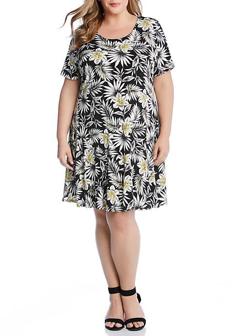 Karen Kane Plus Size Blossom Dakota Dress