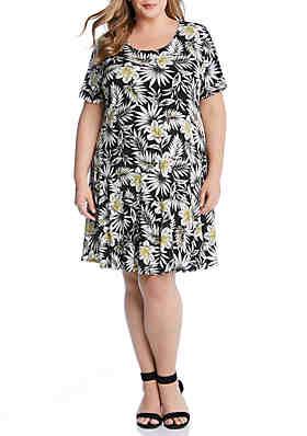 2f29297cdf Karen Kane Plus Size Blossom Dakota Dress ...