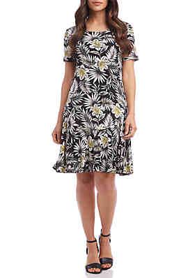 d03b8fb1c29 Karen Kane Palm Blossom Dakota Dress ...