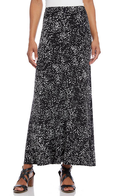 Karen Kane Womens Maxi Flare Skirt