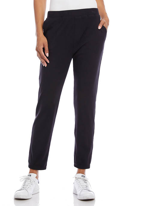 Karen Kane Womens Rib Knit Sweatpants