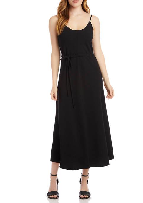 Womens Crepe Cami Dress