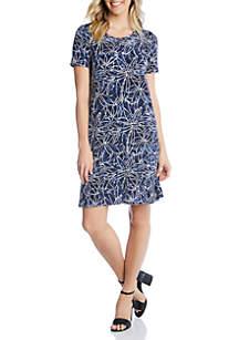 Karen Kane Short Sleeve Dress