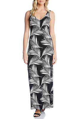 bd35f905589 Karen Kane Side Slit Maxi Dress ...