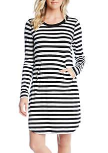 Karen Kane Stripe T-Shirt Dress