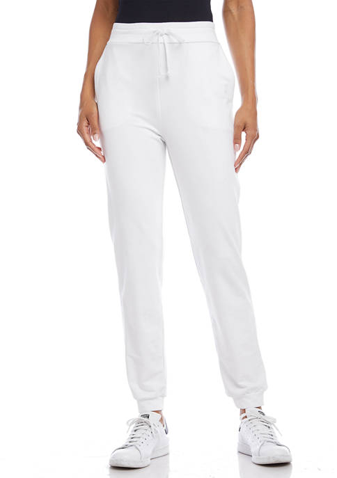 Karen Kane Womens French Terry Sweatpants