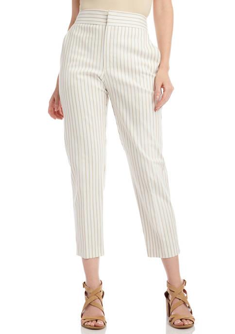 Karen Kane Womens Stripe Pants