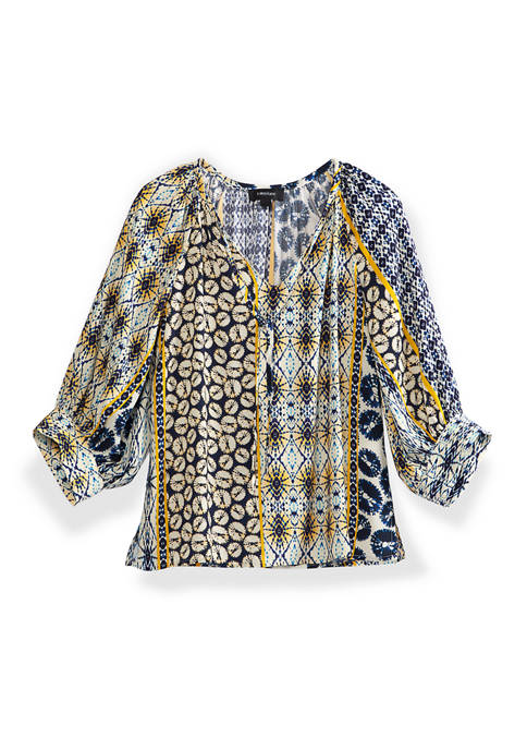 Womens Peasant Top