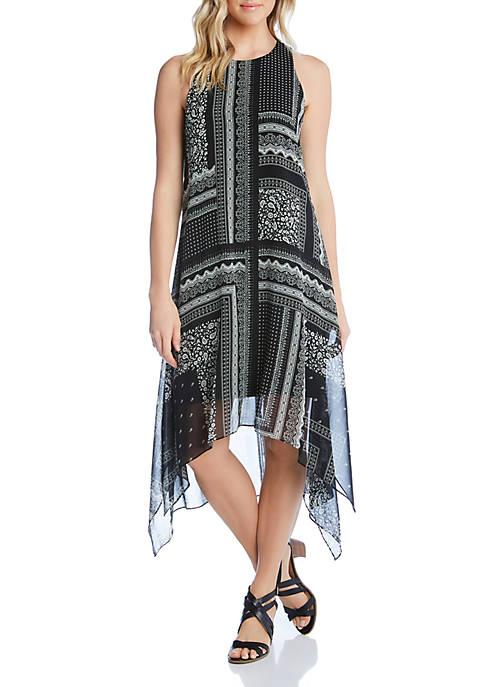 Karen Kane Handkerchief Hem Dress