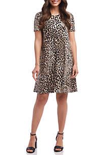 Karen Kane Short Sleeve Abby T Shirt Dress