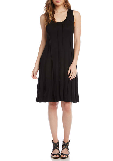 Karen Kane Womens Reverse Seam Dress