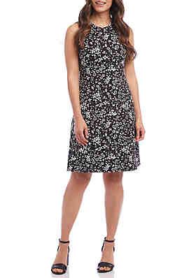 c19864ee4d Karen Kane High Neck A Line Dress ...