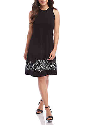 585f04d9dff Karen Kane Scoop Neck A Line Dress ...