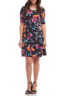 Karen Kane Seamed A Line Dress