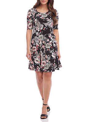 af1118f5c2 Karen Kane Seamed A Line Dress ...