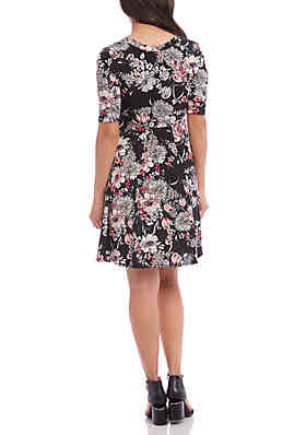 0d7882ff116 ... Karen Kane Seamed A Line Dress